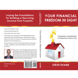 Cover of 'Your Financial Freedom in Sight' by Steve Evans
